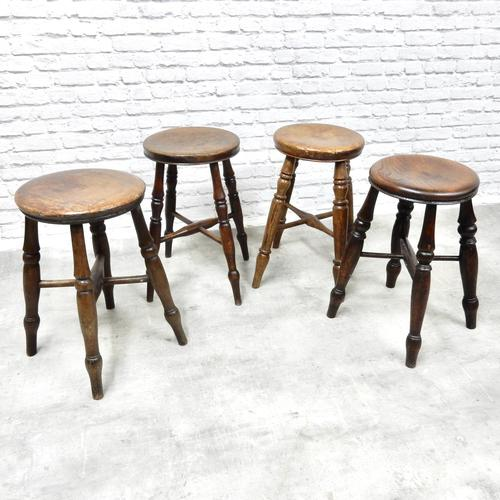 Group of 4 Tavern Stools (1 of 5)