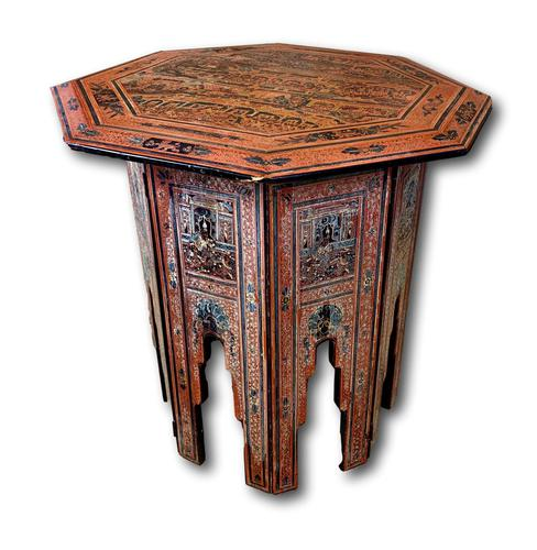 Antique Lacquered Eastern Table (1 of 5)
