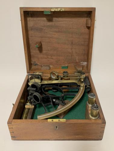 Victorian Sextant in Box (1 of 23)