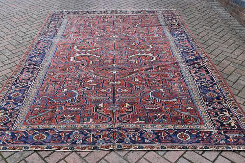 Old Heriz Roomsize Carpet 307x221cm (1 of 4)