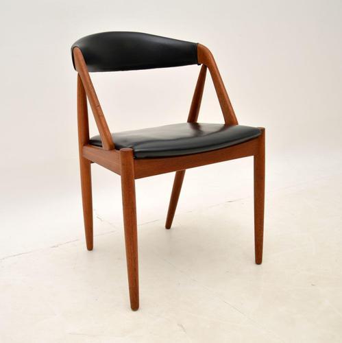 Danish Teak Side / Dining / Desk Chair by Kai Kristiansen (1 of 20)