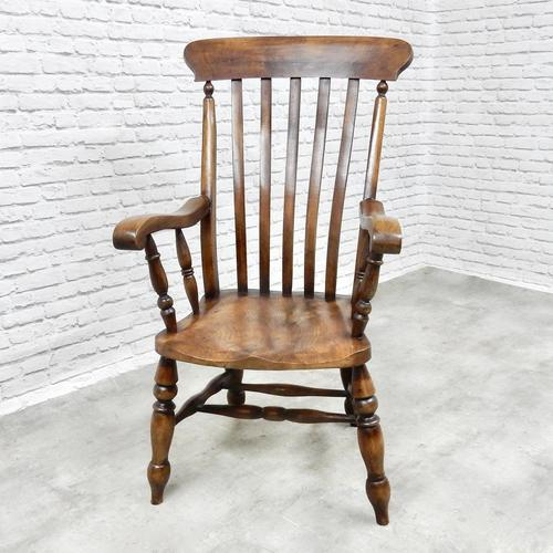 Large 19th Century Windsor Armchair (1 of 5)