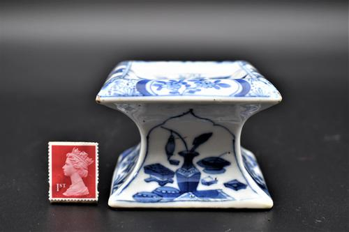 Chinese Porcelain Table Salt Pot - Kangxi (1 of 6)