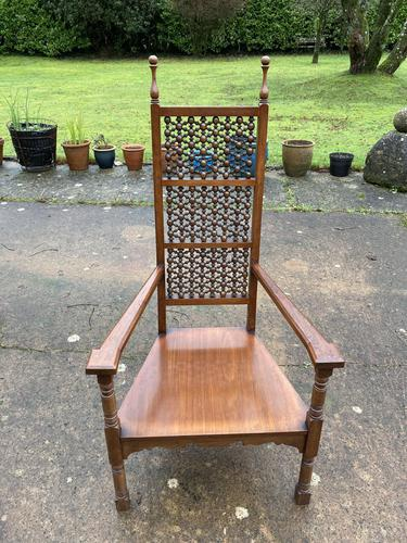 Low Elbow Moorish Style Chair (1 of 4)