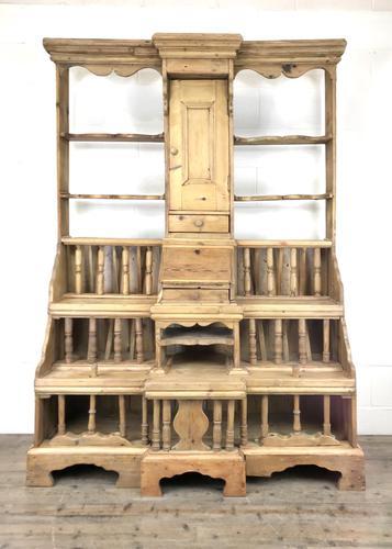 Unusual Victorian Antique Pine Chicken Coop Dresser (1 of 16)