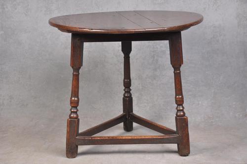 17th Century Oak Cricket Table (1 of 7)