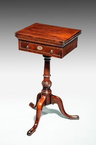 George III Period Mahogany Reading & Writing Table (1 of 9)