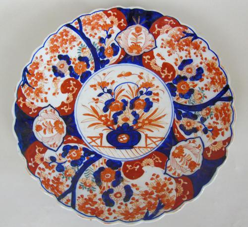 Antique Japanese Imari Charger Meiji (1 of 7)