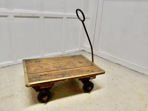 Industrial Bullion and Coin, Bank Cart Trolley by Slingsby (1 of 7)