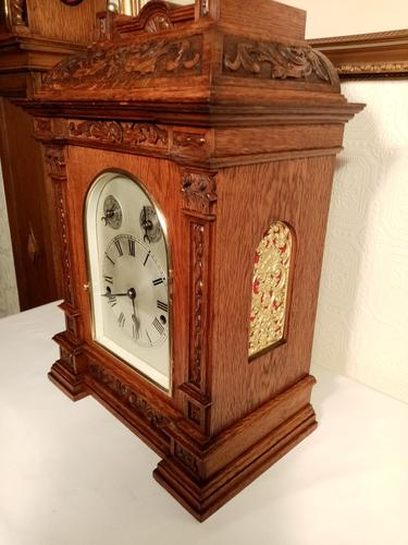 Outstanding Westminster-Chime Bracket/ Table Clock (1 of 9)
