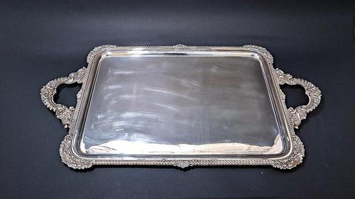 Victorian E.P.N.S. Tea Tray (1 of 6)