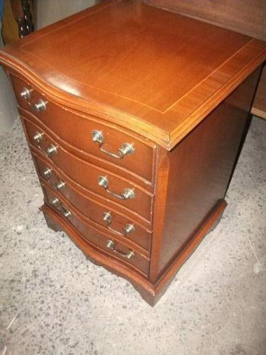 Small Reproduction Four Drawer Chest (1 of 3)