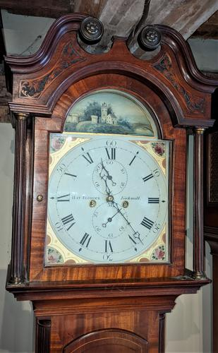 Early 19th  Century Mahogany Scottish Long Case Clock (1 of 5)