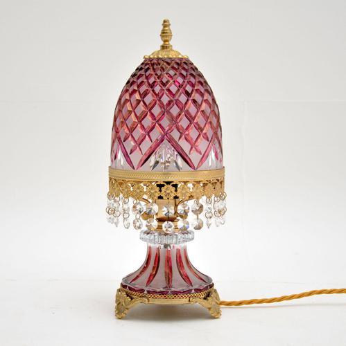 Bohemian Crystal Table Lamp (1 of 7)