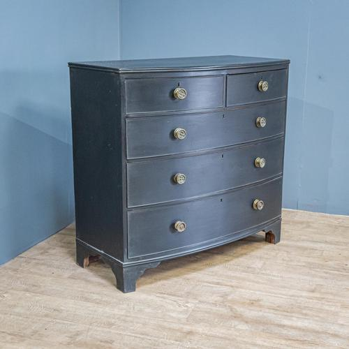 Bow Front Painted Chest of Drawers (1 of 8)