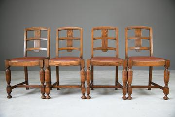 1930s Oak Dining Chairs (1 of 11)