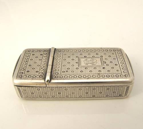 French antique silver combination vesta/cheroot cutter Paris c 1880 (1 of 14)