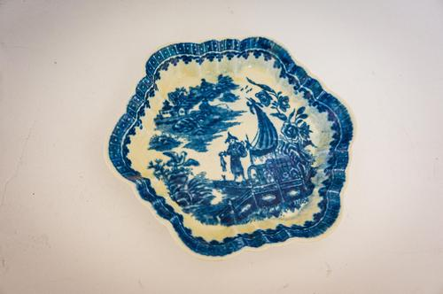 18th Century Worcester Teapot Stand (1 of 4)