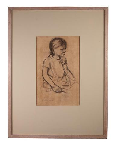 Portrait of Seated Girl (1 of 4)