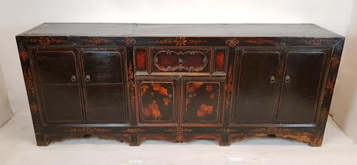 Chinese Antique Sideboard, Low Cupboard (1 of 9)