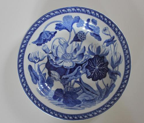 Antique Wedgwood Water Lily Pattern Small Dish c.1810 (1 of 4)