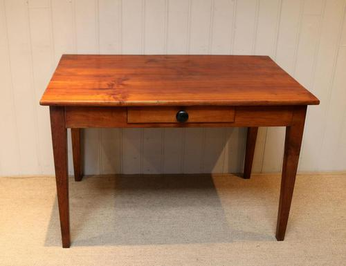 Small Proportioned French Provincial Cherry Wood Table (1 of 10)