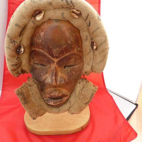 Genuine Antique  African Tribal Mask (1 of 3)