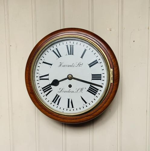 10 Inch Fusee Harrods Dial Clock (1 of 8)