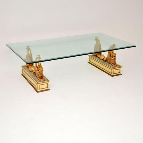 1970's Vintage Egyptian Inspired Coffee Table (1 of 12)