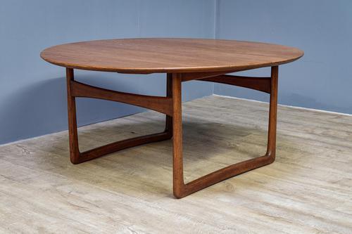 Large Danish Teak Coffee Table (1 of 5)