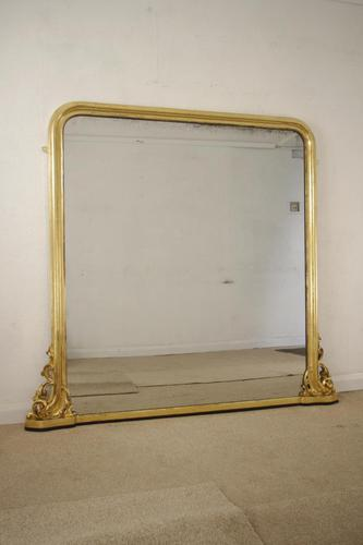 Victorian Giltwood Overmantle (1 of 9)