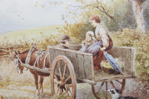 Myles Birket Foster Watercolour (1 of 8)