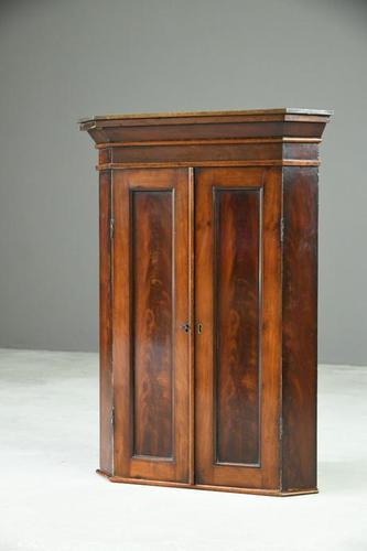 Antique Hanging Corner Cupboard (1 of 11)