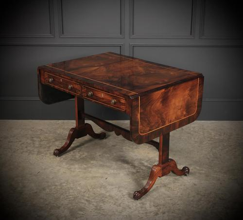 Magnificent Regency Rosewood Sofa Table (1 of 23)
