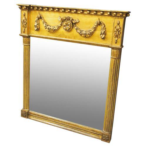 George IV Carved and Gilded Pier Mirror (1 of 14)