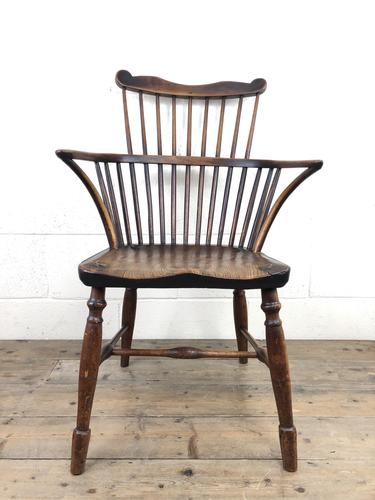 Early Georgian Windsor Stick Back Chair (1 of 11)