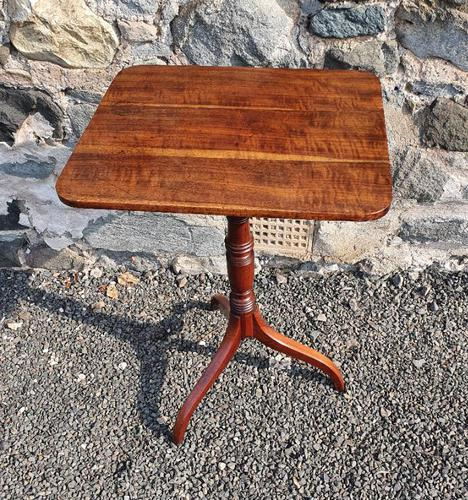 Elegant Regency Goncalo Alves Tripod Table (1 of 6)