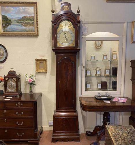 Fine Late 18th Century London Mahogany Longcase Clock by Kenneth Maclennan (1 of 9)