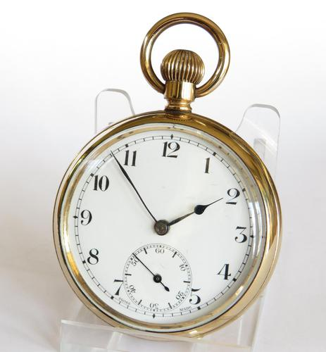 1920s Record Pocket Watch (1 of 5)
