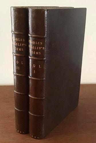 1884 Poems by Charles Kingsley, complete in 2 Volumes (1 of 5)