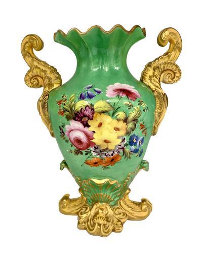 19th Century Coalport Design Porcelain Vase c.1830- 1850 (1 of 8)