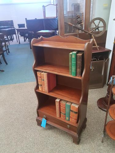 Antique Style Waterfall Bookcase (1 of 4)
