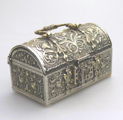 A Novelty Jewellery Box Armada Treasure Chest 20thc (1 of 8)