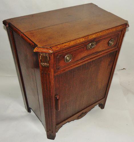 18th Century Dutch Oak Side Cabinet (1 of 9)