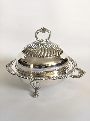Handsome Victorian Silver Plated Warming Dish (1 of 7)