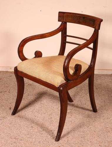 Regency Rosewood Chair Early 19th Century c.1811 (1 of 10)