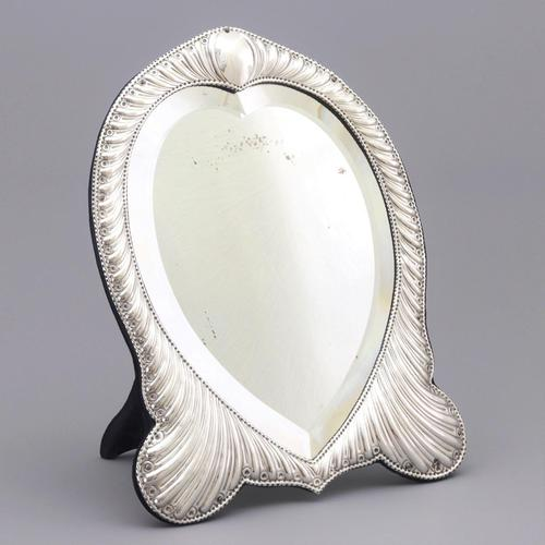 Fine Antique Silver Dressing Table Mirror by William Comyns London 1893 (1 of 10)