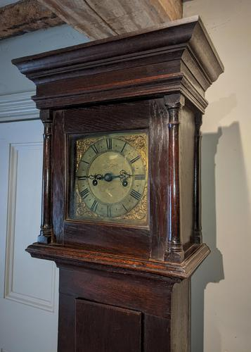 18th Cent Oak Long Case Clock (1 of 5)
