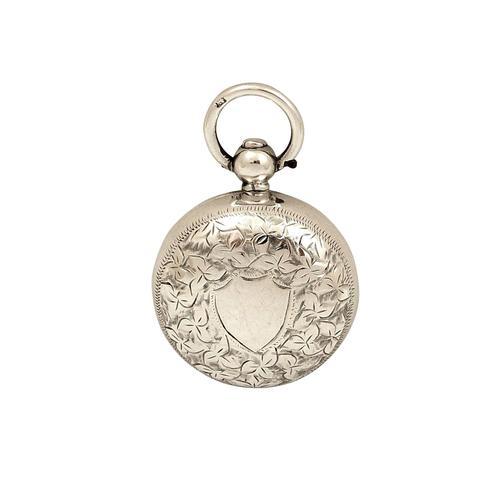 Antique Edwardian Sterling Silver Sovereign Case 1902 (1 of 7)