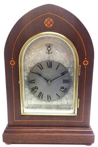 Antique German Quarter Chiming Mantel Clock (1 of 11)